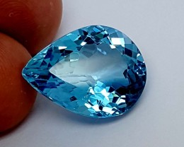 19.55 Crt Blue topaz Stunning  Gemstone   Jl137