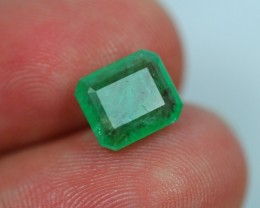 Emerald Auction ~ Lot 14 ~ 2.44Ct Natural Zambian Green Emerald
