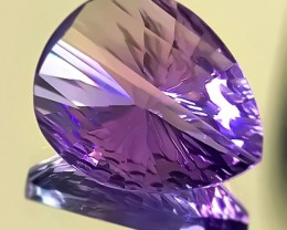 16.00CT EXQUISITE AMETHYST - THE WIND SAIL - INCREDIBLE CUT GEM
