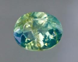 Rare Bicolor Sapphire from Madagascar
