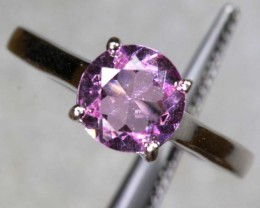 15.3CTS LIGHT PINK AMETHYST SILVER RING SG-2578