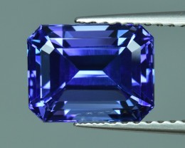 3.27 Cts Fabulous Wonderful Fine Stone Natural Tanzanite