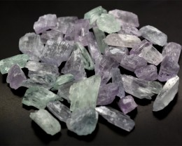 350 Cts Multi Color Natural Kunzite Crystals @ Afghanistan