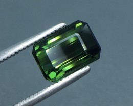 2.21 Ct Untreated Green Tourmaline Awesome Color ~ Afghanistan Kj27
