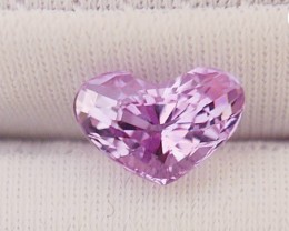 0.94CT NATURAL PINK TANZANITE GEMSTONE VVS SUPER RARE