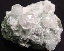 Prehnite Apophylite rare mineral