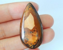 25ct Natural Us Biggs Picture Jasper Cabochon(17101720)