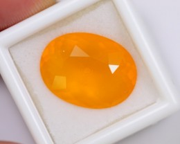 Lot 03 ~ 10.41Ct Natural Orange Color Mexican Fire Opal