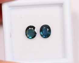 NR Lot 06 ~ 1.42Ct Natural Unheated Australian Dark Blue Sapphire