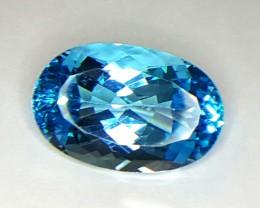 24.35 Crt Natural Topaz Faceted Gemstone (R 823)