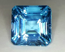 40.0 Crt Natural Topaz Faceted Gemstone (83)