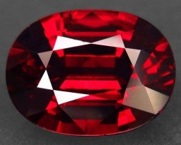 7.88ct Huge Rich Red Spessartite Garnet VVS stone