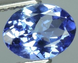 MIND BOGGLING NATURAL RICH FIRE BLUE OVAL TANZANITE NR