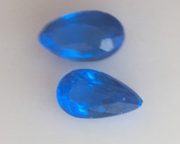 0.09ct RARE TOP QUALITY ELECTRIC BLUE HAUYNE