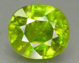 Gil Cert Top Color 5.75 ct Natural  Sphene SKU.4