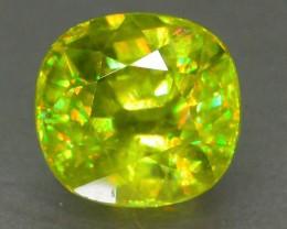 Gil Cert Great Dispersion 2.54 ct Titanite Sphene Skardu Pakistan SKU.4