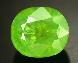 1.90 ct Natural Demantoid Garnet w Horsetail Inclusion