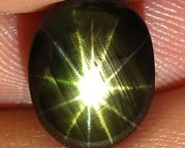 6.13 Carat Thailand Star Sapphire - Gorgeous
