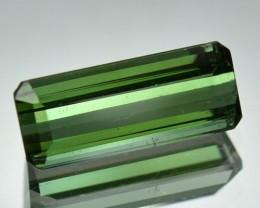 2.59 Cts NATURAL NEON GREEN TOURMALINE OCTAGON NIGERIA