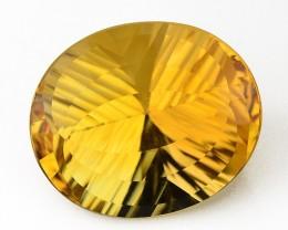 ~PRECISION CUT~ 5.86 Cts Natural Citrine - Golden Orange - Fancy - Brazil G