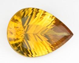 ~PRECISION CUT~ 6.28 Cts Natural Citrine - Golden Orange - Fancy - Brazil G