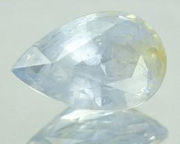1.43 Cts Natural Corundum Blue Sapphire Pear