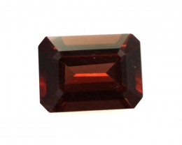 1.68cts Natural Rhodolite Garnet Emerald Cut