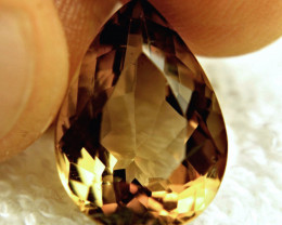 14.15 Carat VVS South American Topaz Pear - Elegant