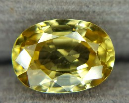 2.45 Crt Natural Zircon Faceted Gemstone (R 84)