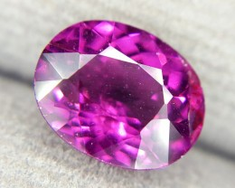 2.80 Crt Natural Rhodolite Garnet Purple Color Faceted Gemstone (R 84)