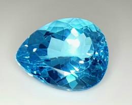 35.25 Crt Natural Topaz Faceted Gemstone (84)