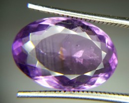 6.0 Crt Natural Amethyst Purple Faceted Gemstone (84)