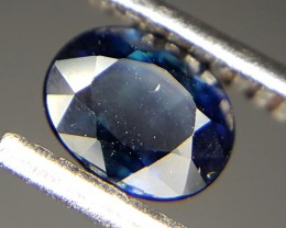 0.30 Crt Natural Sapphire Faceted Gemstone (84)