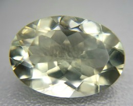 10.45 Crt Natural Green Amethyst Prasiolite Faceted Gemstone (84)