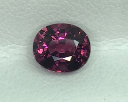 1.27 CT NATURAL RED RHODOLITE GARNET HIGH QUALITY GEMSTONE S70