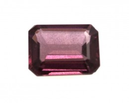 1.65cts Natural Rhodolite Garnet Emerald Cut