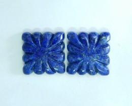 36ct Natural Lapis Lazuli Cabochons(17102015)