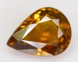 Gil Cert 0.98 ct Natural Yellow Sapphire SKU-7