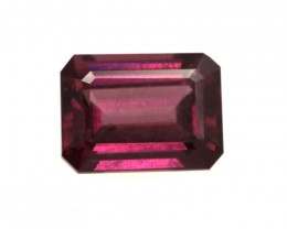 1.91cts Natural Rhodolite Garnet Emerald Cut