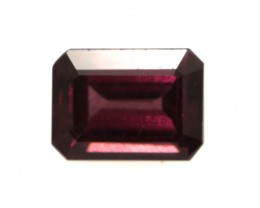 1.81cts Natural Rhodolite Garnet Emerald Cut