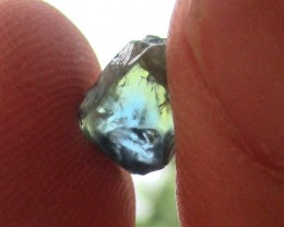3.54cts Rough Natural Sapphire Facetable Untreated