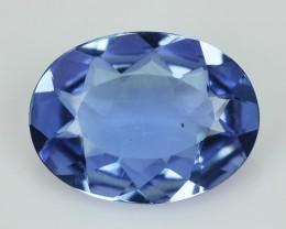 1.28 Cts Natural Blue Beryl (Aquamarine) Oval Brazil Gem