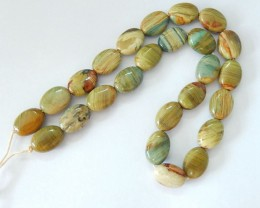 150.5CT Natural Ocean Japser Loose Beads,14x11x6mm,15x10x7mm,35cm In The Le