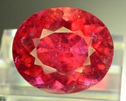 Top Color 8.05 ct Natural Rubelite