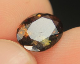 Rare And Mutli Luster Good Size Axinite Collector's Gem