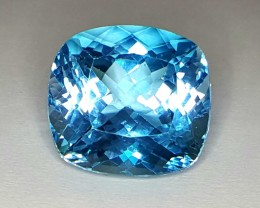 30.55Crt Natural Topaz Faceted Gemstone (R 85)