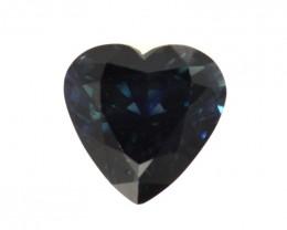 1.77cts Natural Australian Blue Sapphire Heart Shape