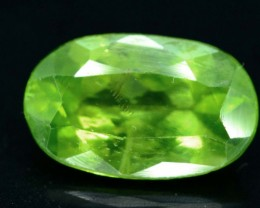 .1.85 ct Untreated Peridot From Pakistan (A)