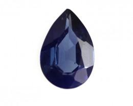 0.42cts Natural Sri Lankan Pear Shape Sapphire