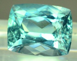Certified 3.16 cts Untreated Blue Tourmaline Gemstone Afghan